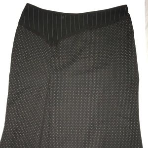 The Limited polka dot pencil skirt size 6
